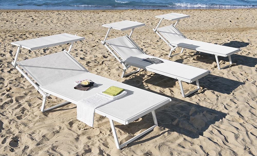 lettino vip arredamento spiaggia